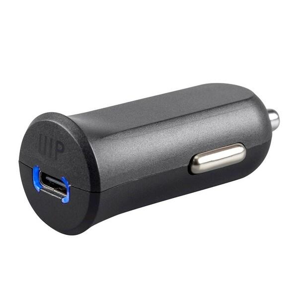 Monoprice Obsidian USB Type-C Car Charger - Black 27 Watt W/Single USB-IF Port