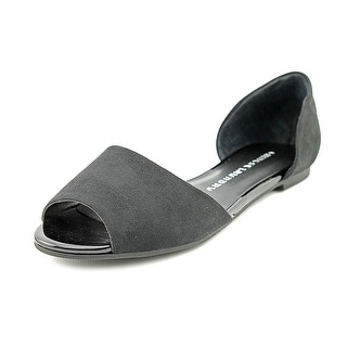 Chinese Laundry Countdown Open-Toe Synthetic Flats
