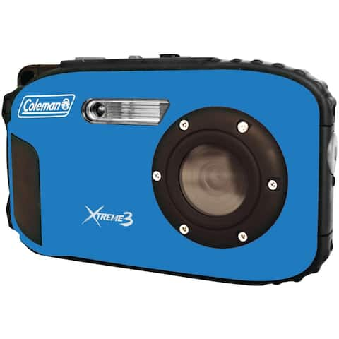 Coleman 20MP Xtreme3 HD Video Waterproof Digital Camera - Blue - C9WP-BL