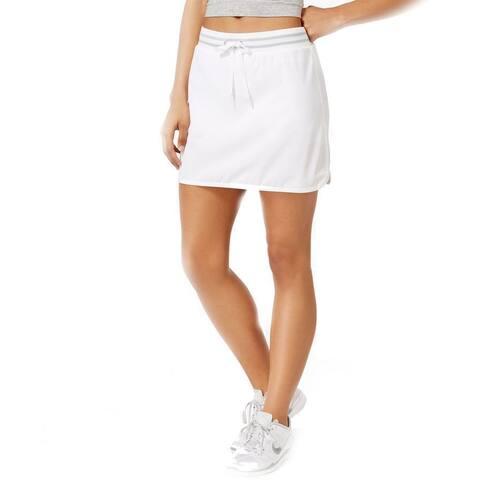 Ideology Women's Drawstring Golf Skort, (Bright White XL)