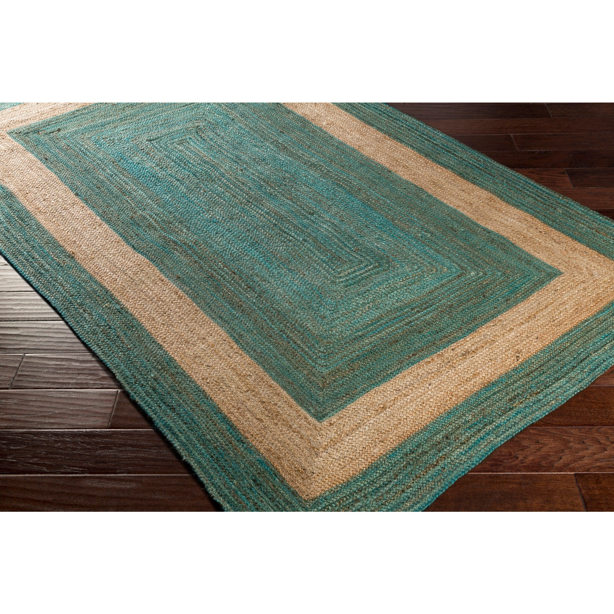 Hand Woven Canada Jute Area Rug