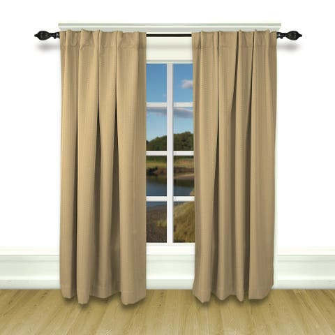 Grand Pointe Superior Room-Darkening 2-Way Pocket w/Back tabs Panel