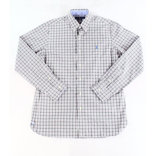 a6ab1a9d Shop Ralph Lauren Pink Mens Stretch Button Down Shirt - Free Shipping On Orders  Over $45 - Overstock - 26995933