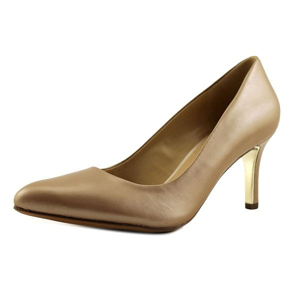 63ee6c8cd35 Shop Naturalizer Natalie Women Pointed Toe Leather Tan Heels - Free ...