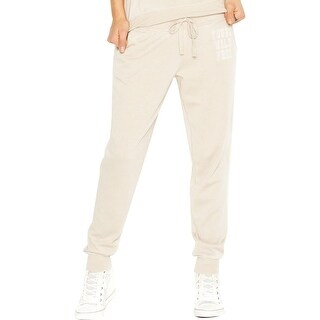 Guess Womens Juniors Lounge Pants Fleece Jogger