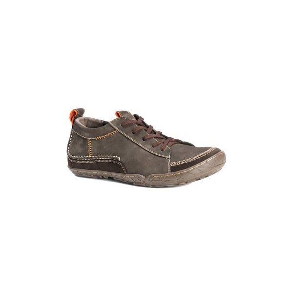 Muk Luks Casual Shoes Mens Cory Leather Lace Up Soft Lining