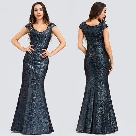 Ever-Pretty Womens Elegant Sequin Formal Evening Dresses 0832