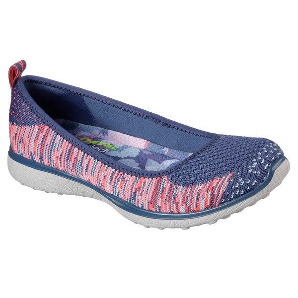 6329612ecb023 Shop Skechers 23324 BLPK Women's MICROBURST-PERFECT NOTE Walking ...