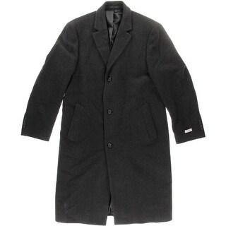 Izod Mens Notch Collar Long Sleeves Coat - 42L