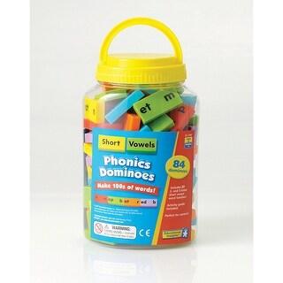 Phonics Dominoes Short Vowels