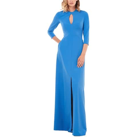 Kay Unger Hannah Stretch Crepe Gown