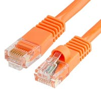 Cat5e Ethernet Network Patch Cable 350 MHz RJ45 - 100 Feet Orange