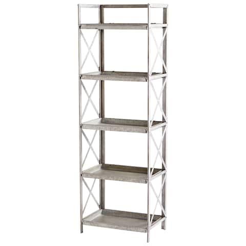 "Cyan Design 09846 Torrance 21-1/4"" Wide 5 Shelf Metal Accent Shelving Unit"