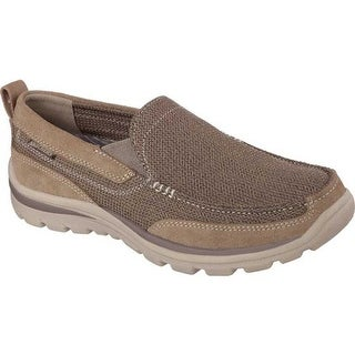 15677f5e487b Shop Skechers Men s Relaxed Fit Superior Milford Light Brown - On Sale -  Free Shipping Today - Overstock - 9938288