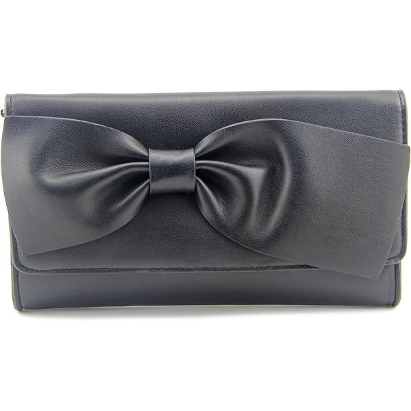 French Connection Olivia Clutch Synthetic Clutch - Black