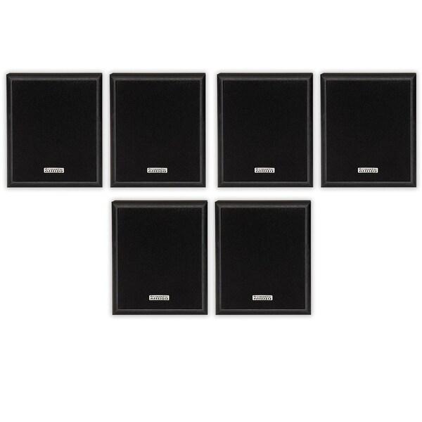 Acoustic Audio RW-SP3 Bookshelf Speakers 300 Watt 2 Way 3 Pair Pack RW-SP3-3PR