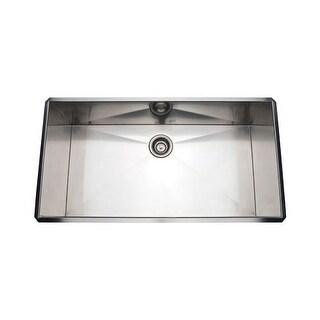 """Rohl RSS3618 37"""" Undermount 16 Gauge Stainless Steel Kitchen Sink"""
