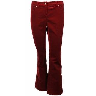 Sutton Studio Women's Bootcut Velvet Jeans