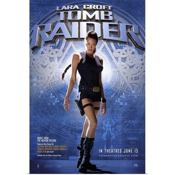 Shop Black Friday Deals On Lara Croft Tomb Raider 2001 Poster Print Overstock 24134780