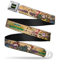 The Wild Thornberry's Logo Full Color The Wild Thornberry's Adventure Pose1 Seatbelt Belt