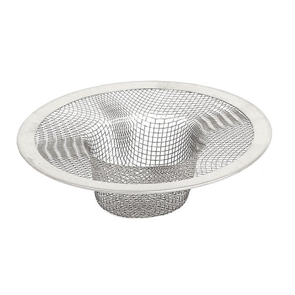 Bathroom Metal Mesh Hole Design Sink Strainer Basket Drain Bathtub ...