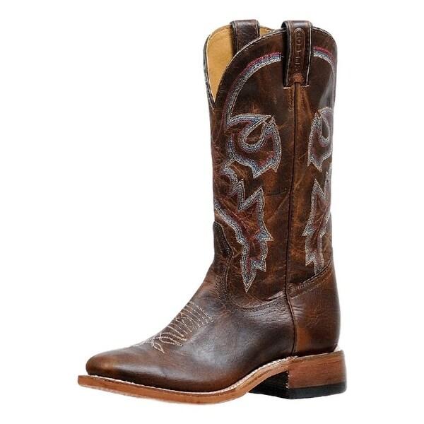 Boulet Western Boots Womens Rider Stockman Pull Tabs Diamana Moka