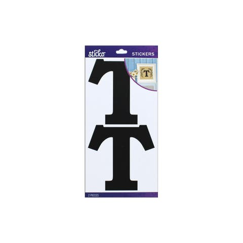 52-90424 ek sticko sticker basic black monogram t