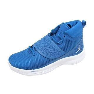 a5db2b30fada Nike Men s Air Jordan Super Fly 5 PO Team Royal Metallic Silver 881571-406