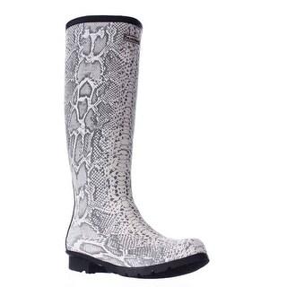 Bearpaw Constance Tall Rain Boots, Nature Snake