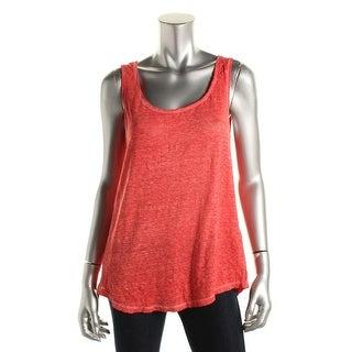 Zara Collection Womens Linen Slub Tank Top - S