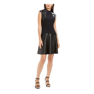 Link to NATORI Black Sleeveless Above The Knee Fit + Flare Dress  Size 12 Similar Items in Suits & Suit Separates