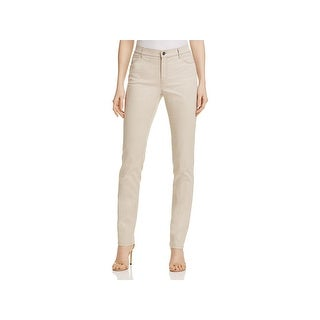 Lafayette 148 New York Womens Thompson Straight Leg Jeans High Rise Snake Print - 16