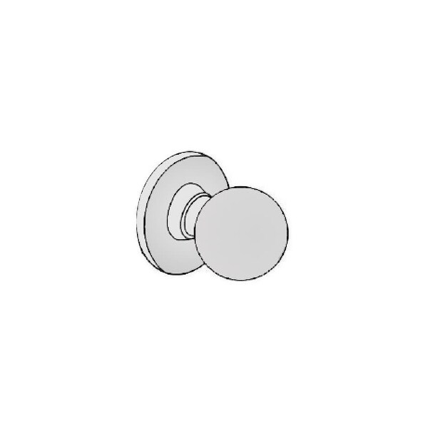 Delaney 115-EA Single Dummy Knobset from the Bala Series - Stainless Steel