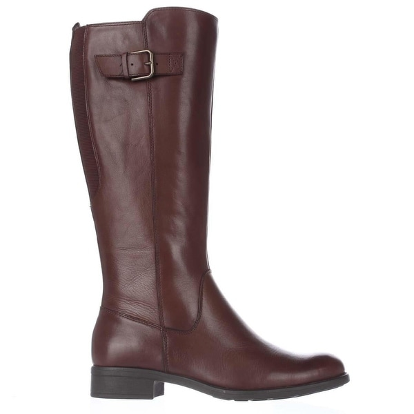 Bare Traps Womens Ruthie Leather Closed Toe Knee High Fashion Boots