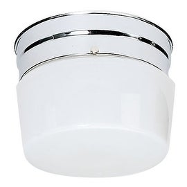 Nuvo Lighting 77/342 1 Light Flush Mount Indoor Ceiling Fixture - 6 Inches Wide