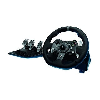 Logitech G920 Driving Force Racing Wheel w/ Responsive Pedals Xbox One