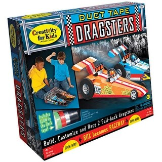 Creativity for Kids - Duct Tape Dragster Kit