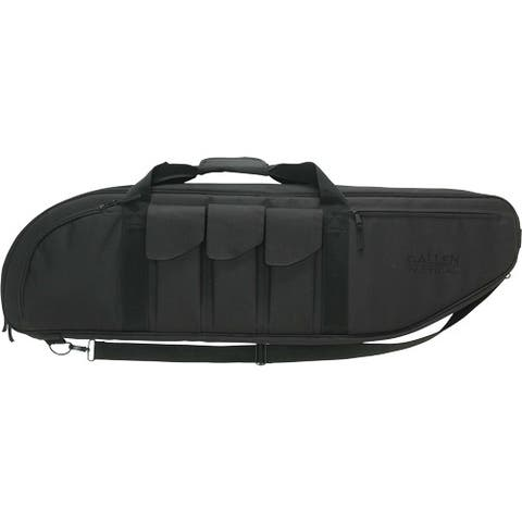 Allen 10928 allen battalion tact case 38 w/3-pockets 2 mags each black
