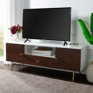 """Link to Safavieh Genevieve Media TV Stand - 54"""" W x 15.7"""" L x 19.7"""" H Similar Items in TV Stands & Entertainment Centers"""