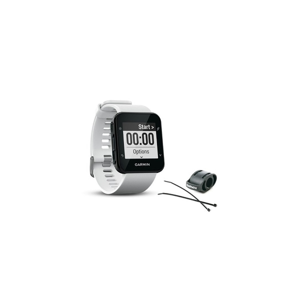 Shop Garmin Forerunner 35 White GPS Running Watch with Wrist