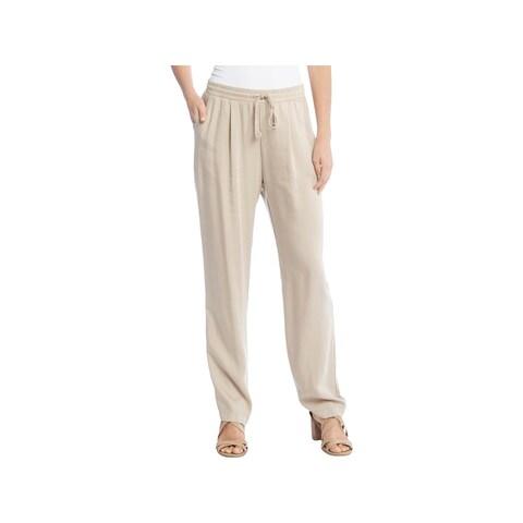 Karen Kane Womens Casual Pants Tencel Drawstring