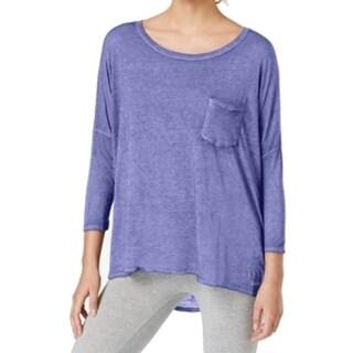 Calvin Klein Performance NEW Purple Women's Size XS Hi-Low Knit Top