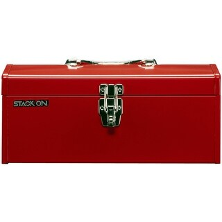 Stack-On R-516-2 Multi-Purpose & Hip Roof Tool Box, Red, 16""