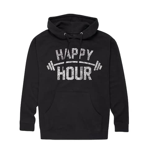 Fitness Happy Hour Barbell - Adult Pullover Hood