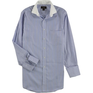 Link to Tasso Elba Mens Stripe Button Up Dress Shirt Similar Items in Shirts