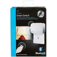 GE 13867 Bluetooth Plug-in Smart Switch, White
