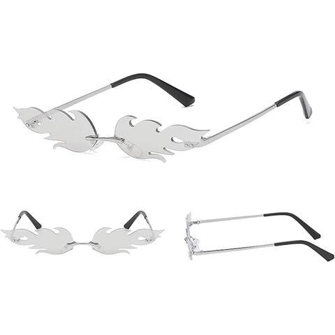 Luxury Cat Eye Polarized Retro Sunglasses Women Silver