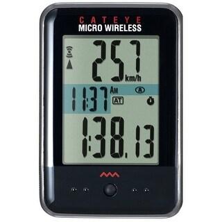 CatEye Micro Wireless Cycling Computer - CC-MC200W Black