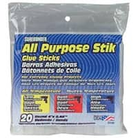 "7/16""X4"" 20/Pkg - All Purpose Stik Glue Sticks"