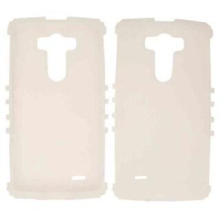 Rocker Series Skin Protector Case for LG G3 (Glow White)